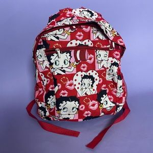 Betty Boop Full Size Backpack